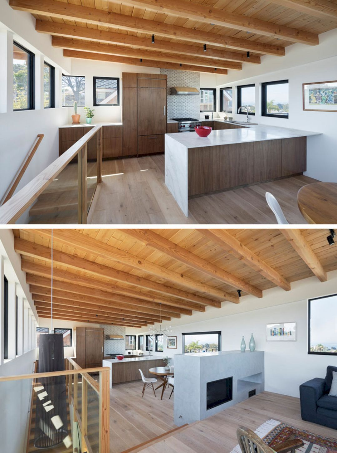 the cornish house a new modern residential with exposed structural rh pinterest com