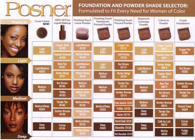 Posner cream foundation golden bronze beauty make up tips