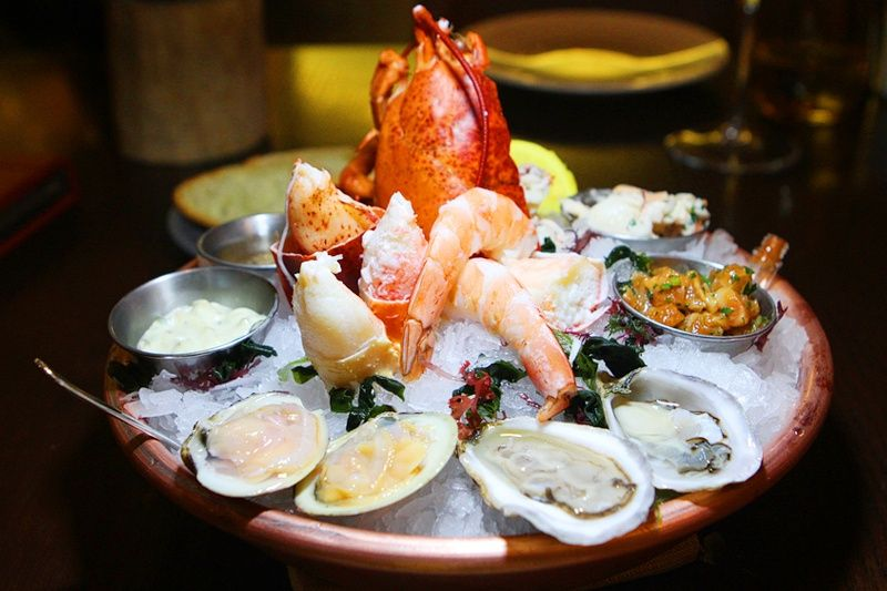 seafood platter at harvest bellagio best las vegas restaurants rh pinterest com