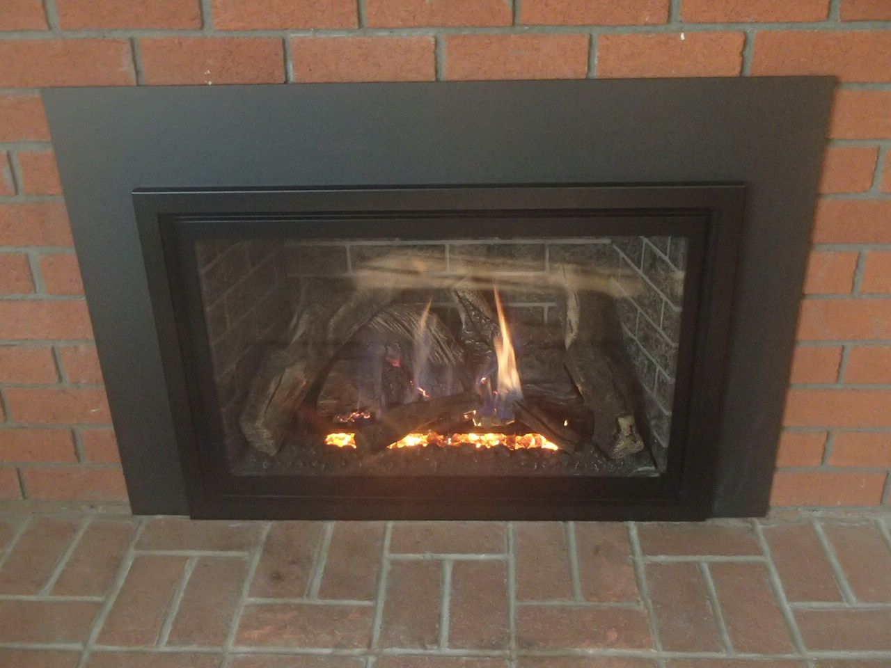 Completely Air Tight The Chaska 34 Gas Insert Was The Ideal
