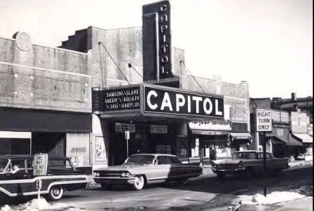 Capitol Theater In Passaic Nj 1963 Before The Concerts Vintage Passaic County New Jersey
