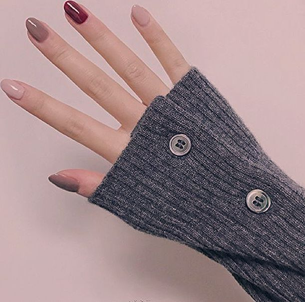 Still pure color is best for autumn and winter 25 simple color jump nails there is absolute Still pure color is best for autumn and winter 25 simple color jump nails ther...