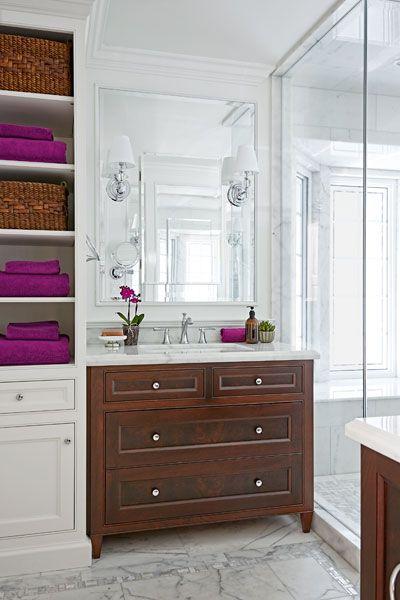 moved and improved bath storage organization ideas bathroom rh pinterest com