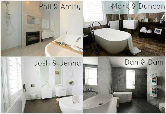 The Block All Stars | Week 3 Bathroom reveal