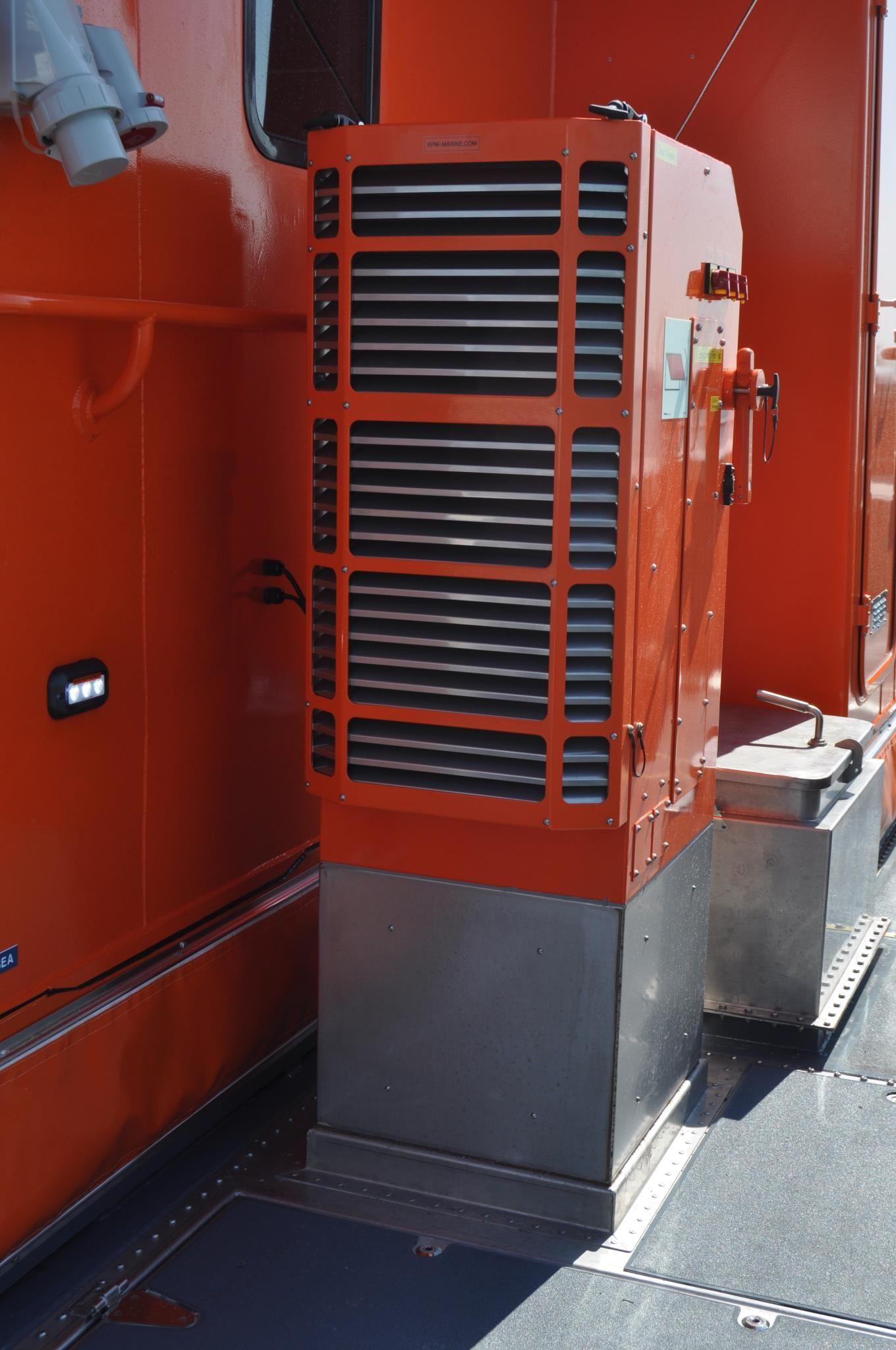 Boat Engine Room: KPM-Marine Engine Room Air Management System.