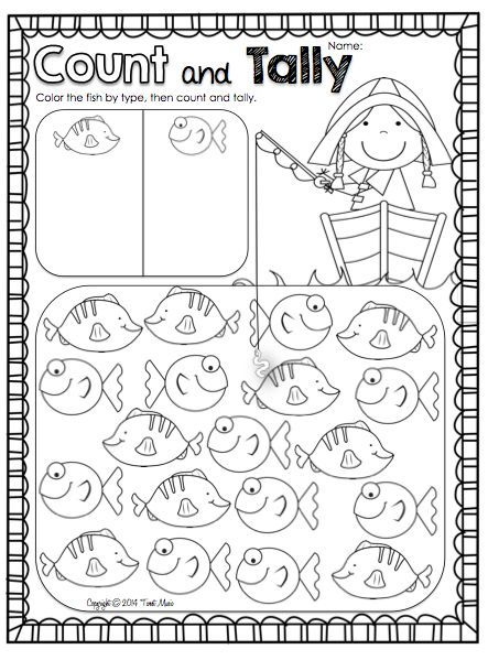 Nursery Rhyme Math Freebie! {1, 2, 3, 4, 5, Once I Caught