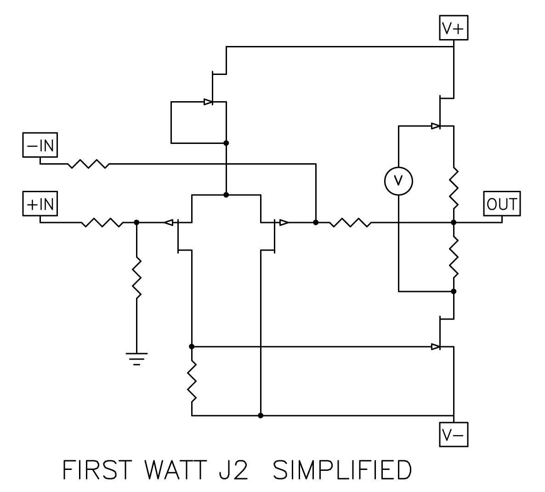 FIRST WATT J2 Circuits Pinterest Audio amplifier