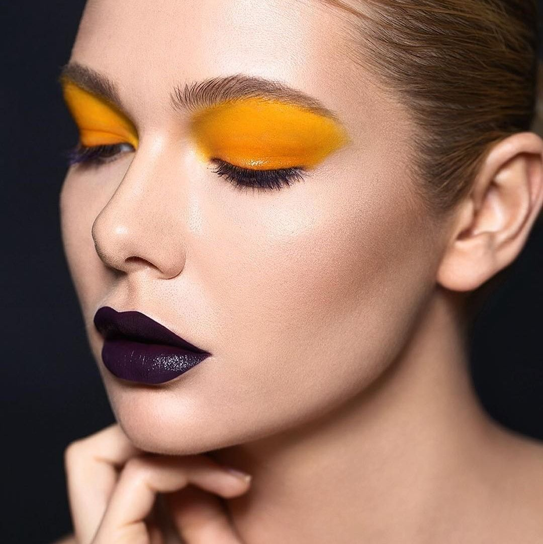 """MAKE UP FOR EVER Academy on Instagram """"Bold colors by"""