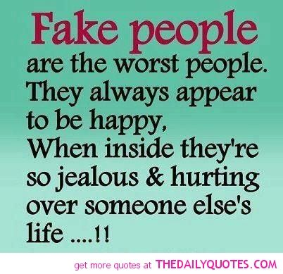Haha Seriously Fake People Quotes Jealous Quotes Fake People