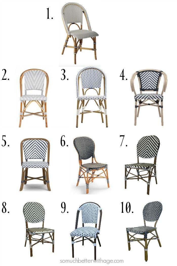 10 French Bistro Chairs French Bistro Chairs Bistro