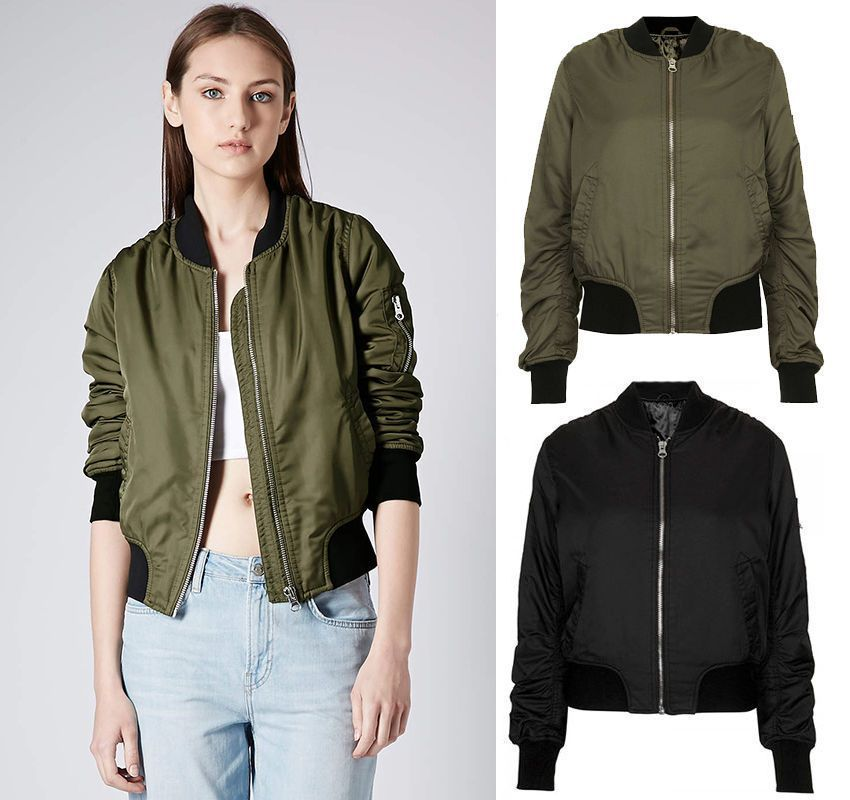 bomber jacket womens - Google Search | Bomber Jackets | Pinterest