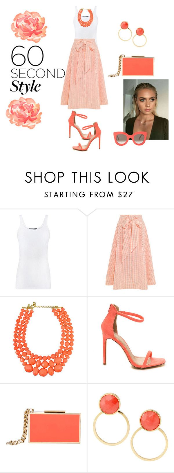 """""""Untitled #2245"""" by stephstyle76 ❤ liked on Polyvore featuring Vince, Lisa Marie Fernandez, Lanvin, Kate Spade and CÉLINE"""