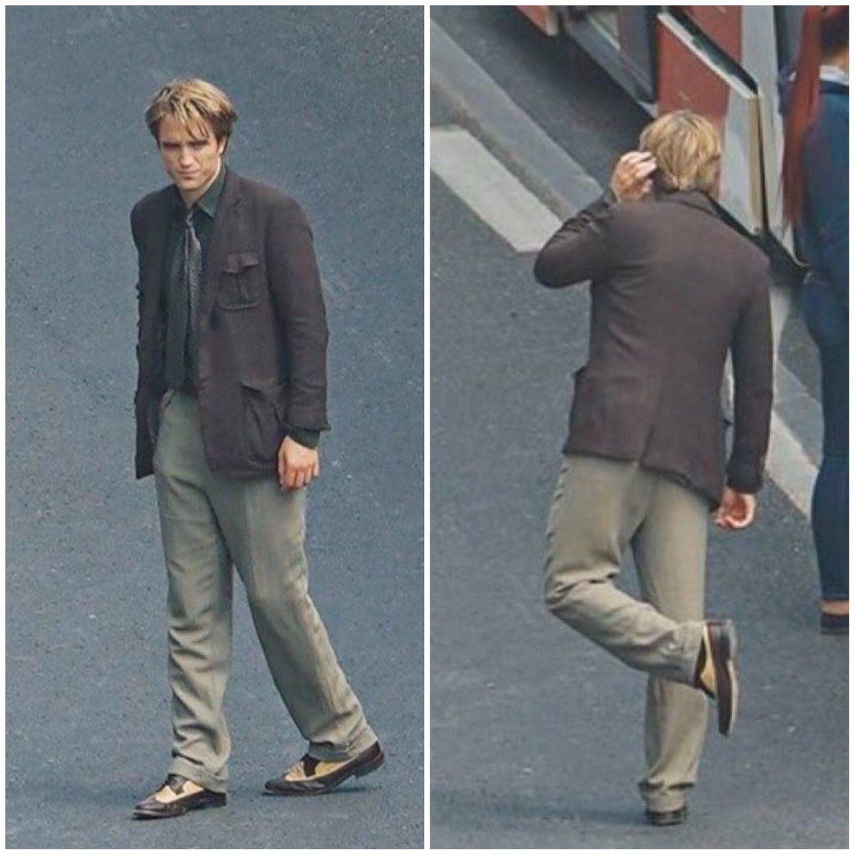 New Pictures Of Rob On Set Of Tenet Robert Pattinson Movies Nolan Film Fragrance Free Products