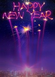Happy New Year Editing Background 10