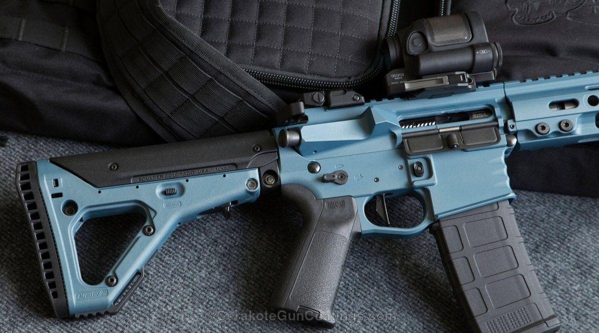 Cerakote - Cerakoted H-185 Blue Titanium