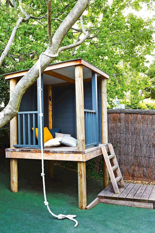 magically sweet backyard playhouse ideas for kids garden 45 for rh pinterest com
