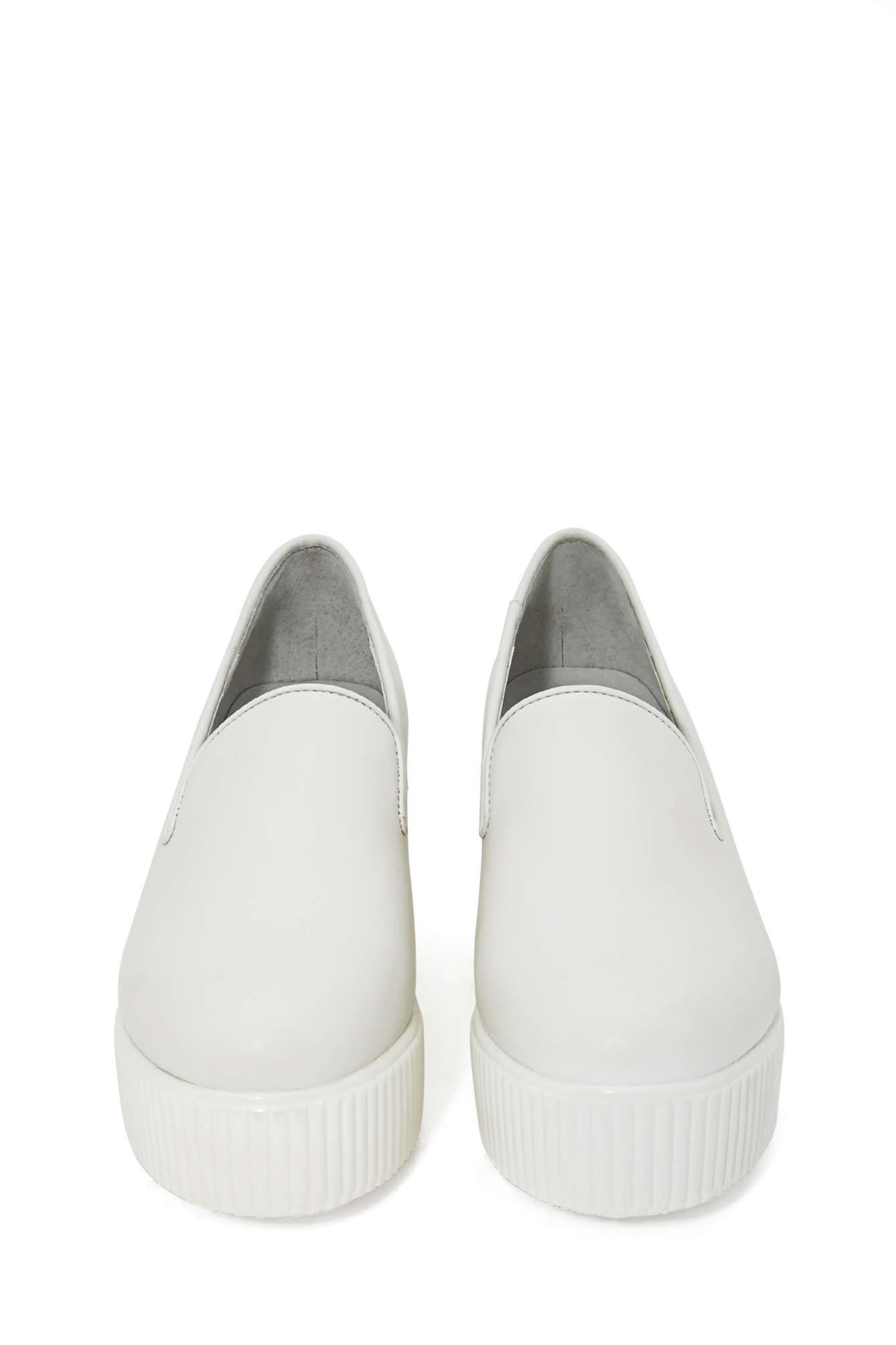 f7c3113418 Shellys London Lacharité Platform Loafer- White