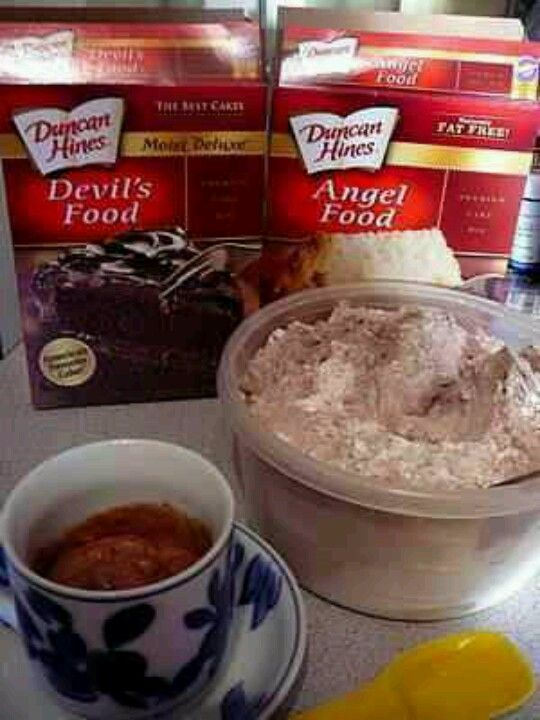 3-2-1 Microwave Cake (80 calories) Mix 1 package Angel ...
