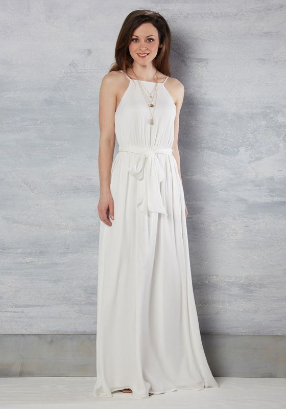 0f7ed034e71 The Beyond Blissful Maxi Dress is a luscious Grecian wedding dress that has  numerous fantastic reviews from happy punters. Get on over to ModCloth for  a ...