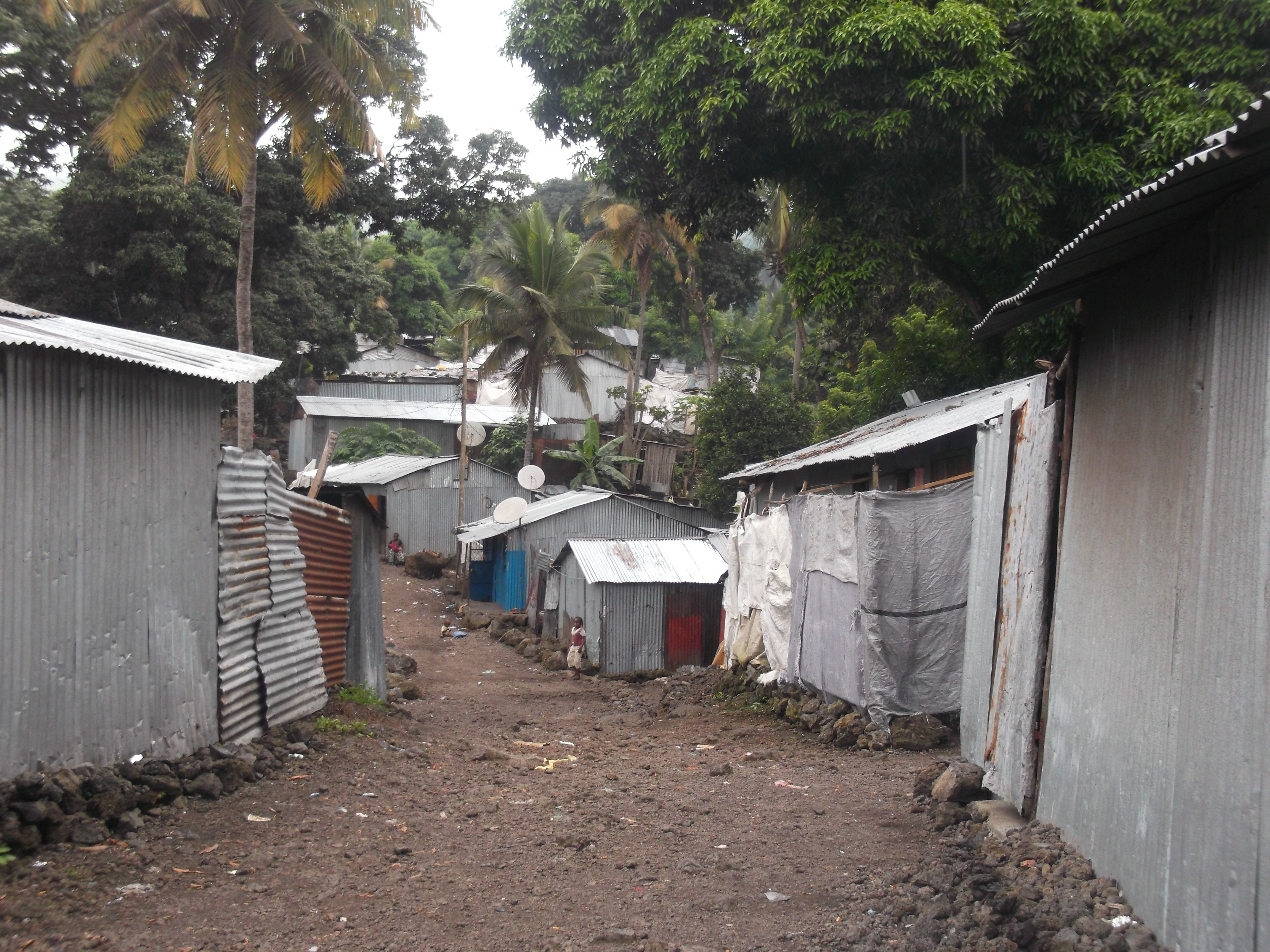 Poor Area East Side Of Moroni