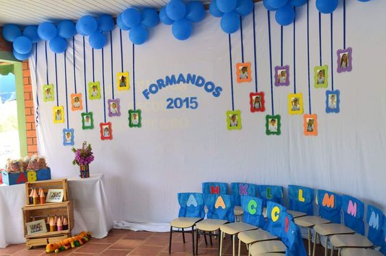 Graduation Crafts For Preschoolers Decoracao Para Formatura Infantil