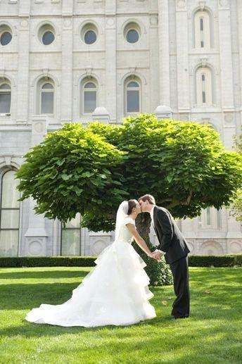 Lauren ♥ Chris, LDS wedding, weddinglds.com, LDS Temple Sealings ...