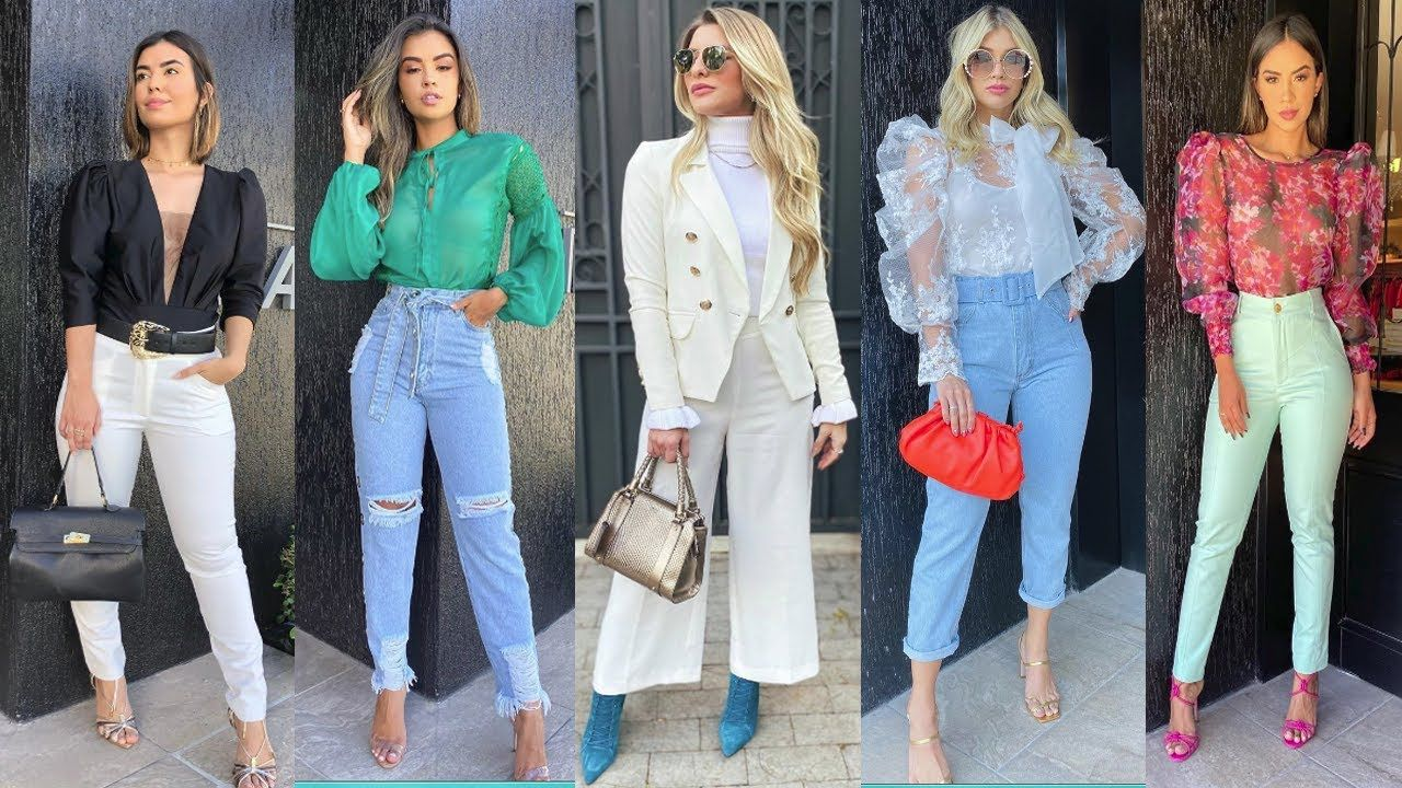 Pantalones De Moda 2021 Looks Elegantes Y Casuales Con Pantalones De Mo Pantalones De Moda Moda Tendencias De Moda