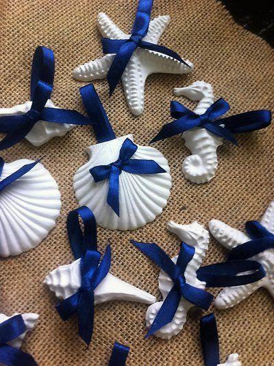 Segnaposto Matrimonio Azzurro : Segnaposto tema mare segnaposto matrimonio nozze temamare
