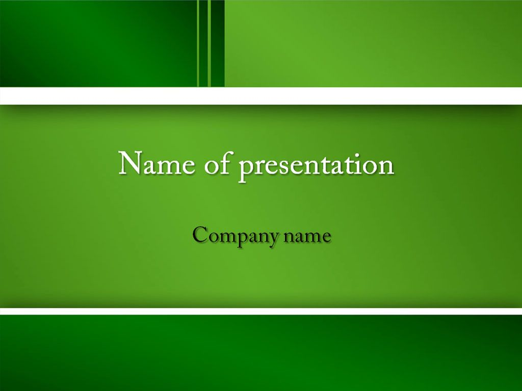 Green feel powerpoint template templates pinterest template neutral green powerpoint template background for presentation free toneelgroepblik Image collections