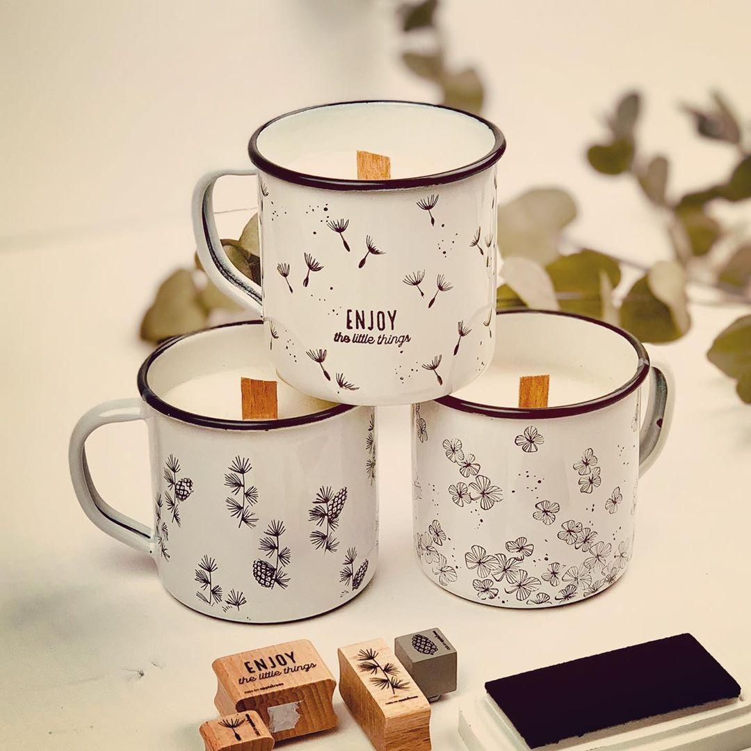 Diy Soy Candles Emaille Tasse Tassen Bedrucken Diy Sachen