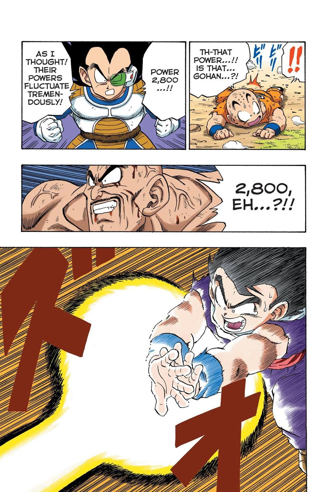 Color q online - Read Dragon Ball Full Color Saiyan Arc Chapter 30 Page 4 Online For Free