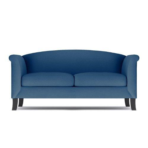 albright apartment size sofa blueberry apartment size 74 w x rh pinterest com