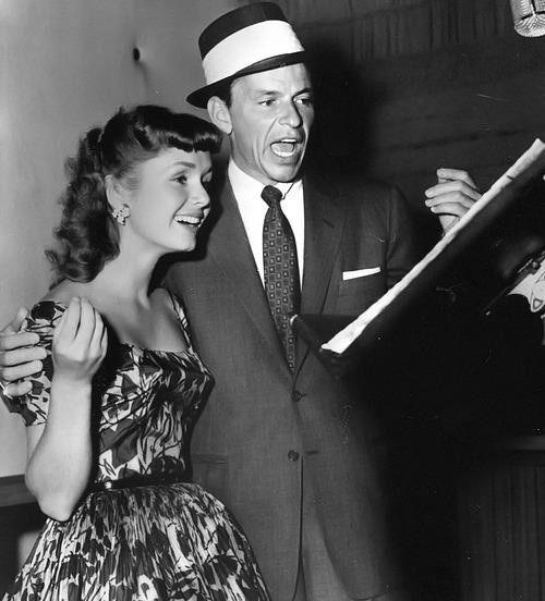 Debbie Reynolds & Frank Sinatra