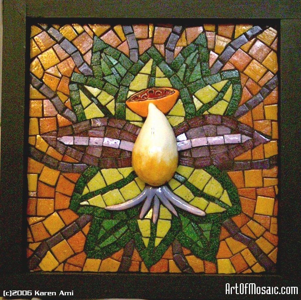 Glass mosaic art lotus flowerglass tile handmade clay tile glass mosaic art lotus flowerglass tile handmade clay tile smalti on wood dailygadgetfo Gallery