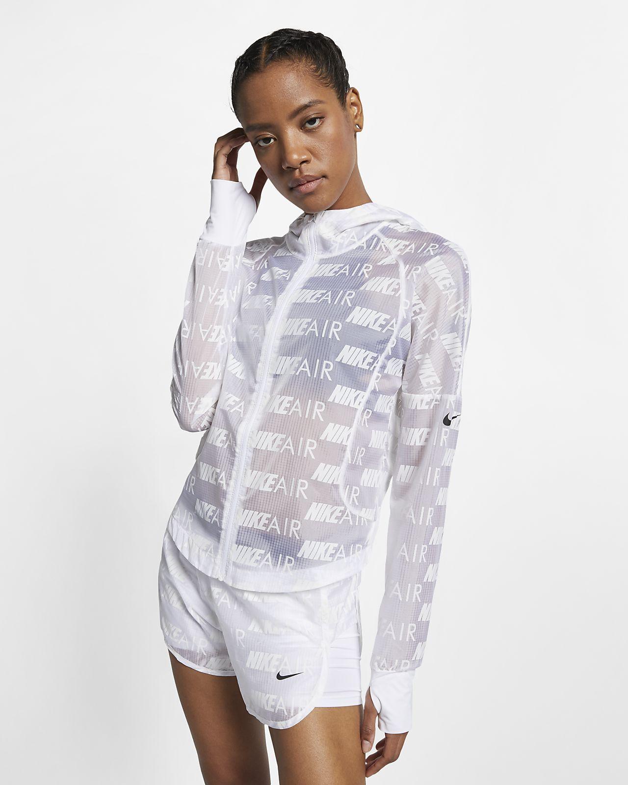 Hooded Running Jacket   Nike air women
