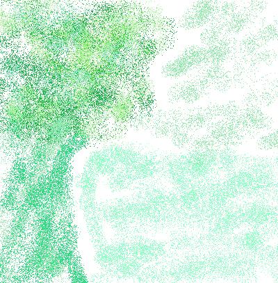 Computer Artwork-Green