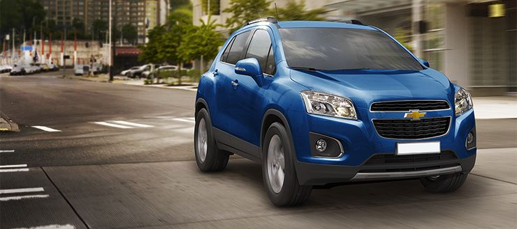 2014 Trax Chevrolet Shown In Blue Topaz Metallic Voiture