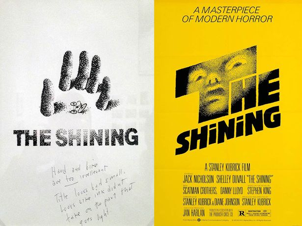 The Shining Poster Saul Bass