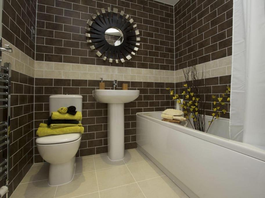 Ultra Modern Interior Designed Very Small Bathroom Design. Itu0027s Fantastic,  The Tile Work Is