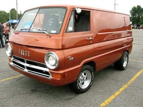 1965 Dodge A100 Van Vintage Vans Custom Vans Cool Vans