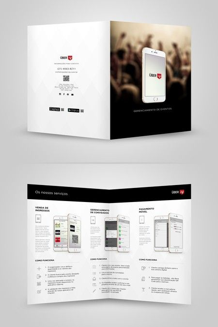 NEW! Ubervip Services Brochure by Adwindesign Business Design - services brochure
