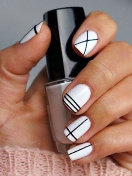 20 easy nail art ideas for short nails