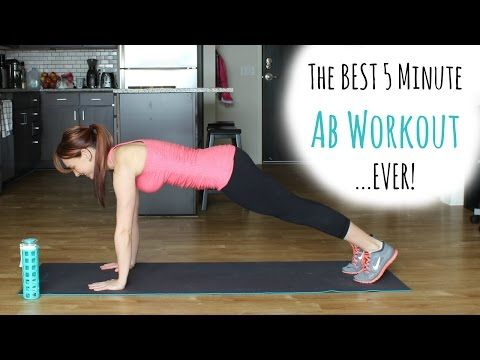 the best 5 minute ab workoutever  5 minute abs workout