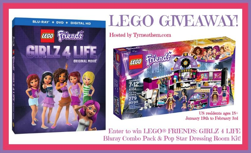 Giveaway} LEGO® FRIENDS: GIRLZ 4 LIFE Bluray Combo Pack | 2016 ...