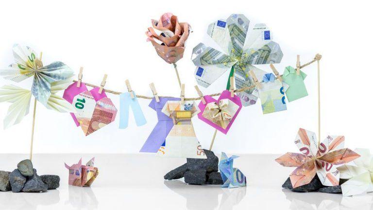 Geldscheine Falten 10 Anleitungen Fur Geldgeschenke