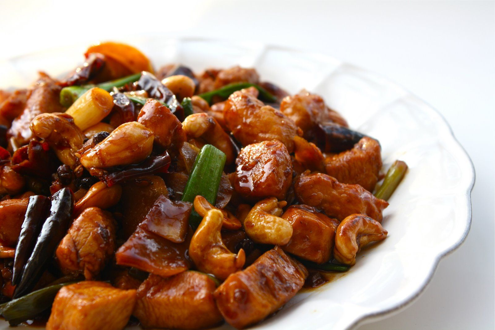 Kung Pao Chicken is a popular Szechuan cuisine. This is a must dish ...