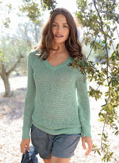 Pull bergere de france | Modele tricot gratuit, Tricot gratuit, Explications tricot gratuit