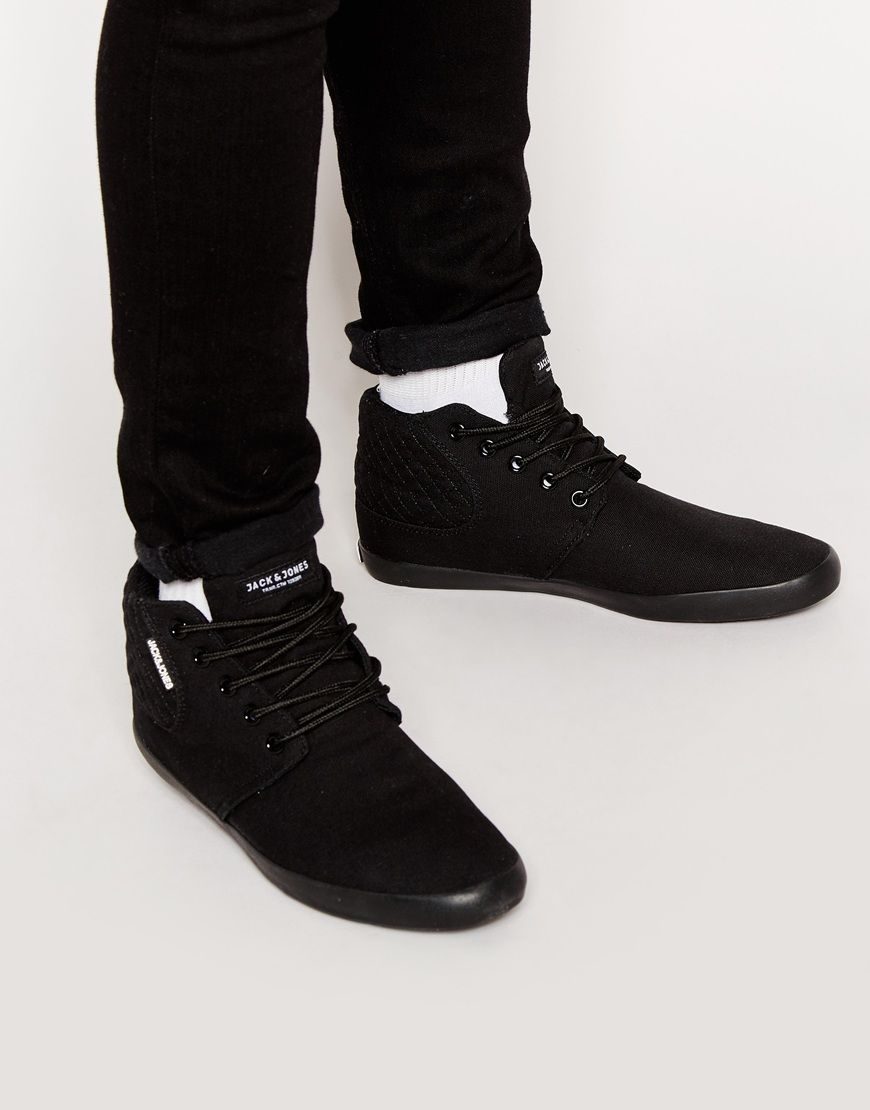 Buy Men Shoes / Jack & Jones Vertu Canvas Trainer