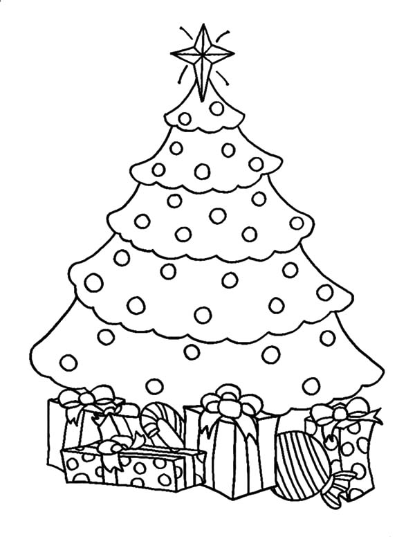 Pin By Colorluna On Christmas Trees Coloring Pages Christmas Tree Coloring Page Christmas Tree Template Tree Coloring Page