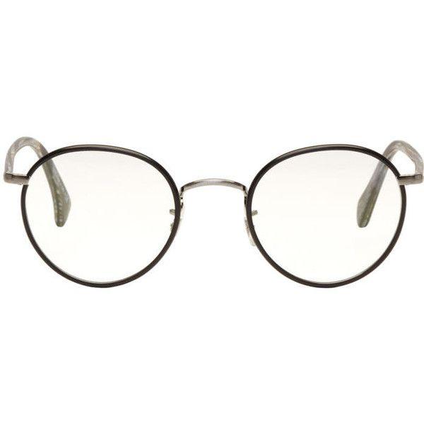 45cc7619b Paul Smith Black Kennington Glasses ($305) ❤ liked on Polyvore featuring  men's fashion, men's accessories, men's eyewear, men's eyeglasses and mens  round ...